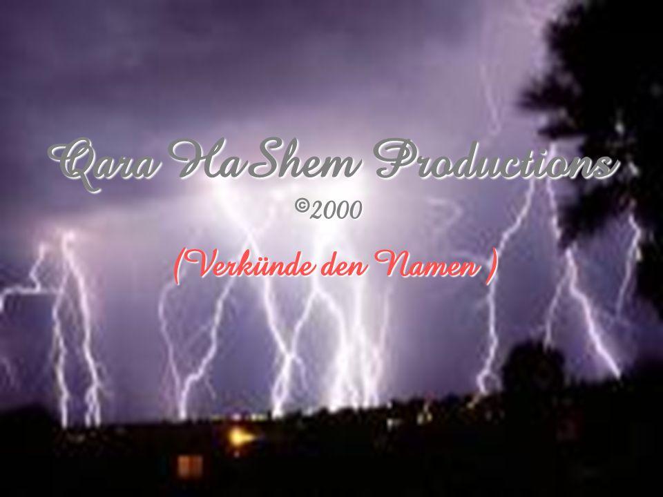 Qara HaShem Productions 82000
