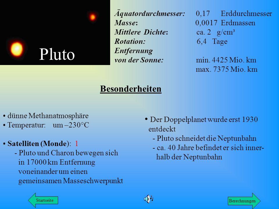 Pluto Besonderheiten Der Doppelplanet wurde erst 1930