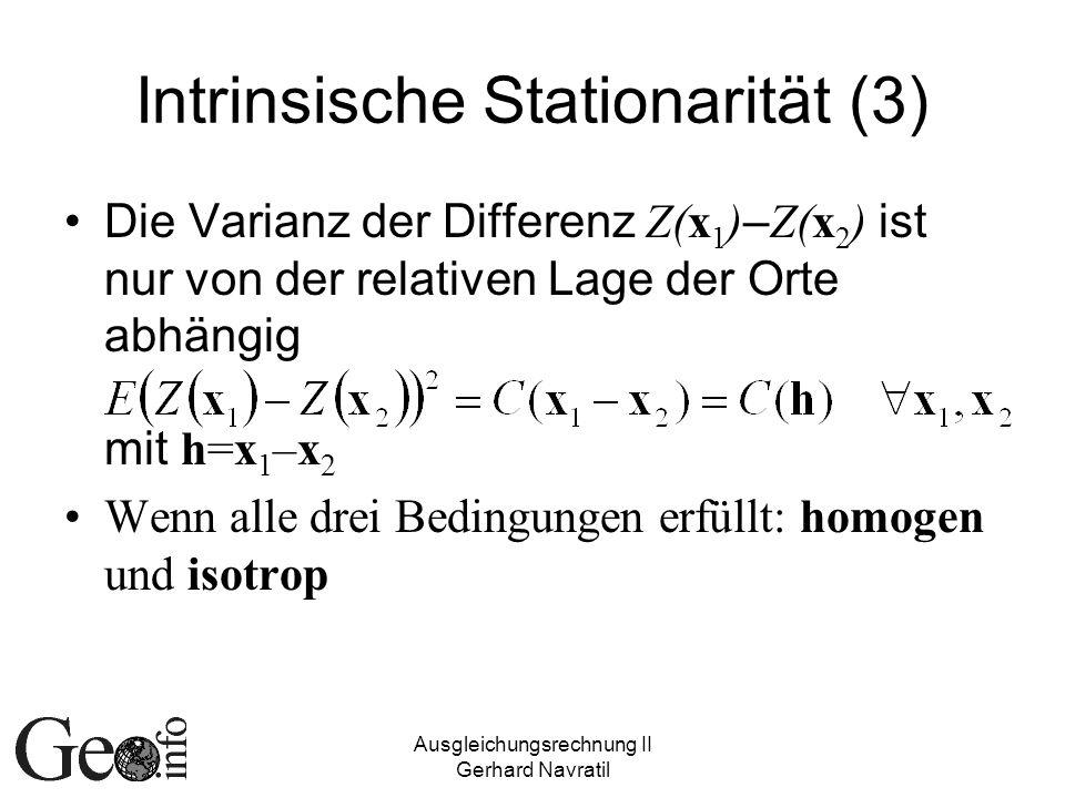 Intrinsische Stationarität (3)