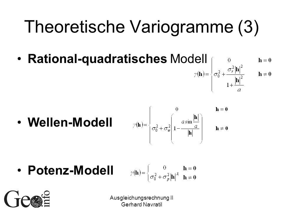 Theoretische Variogramme (3)