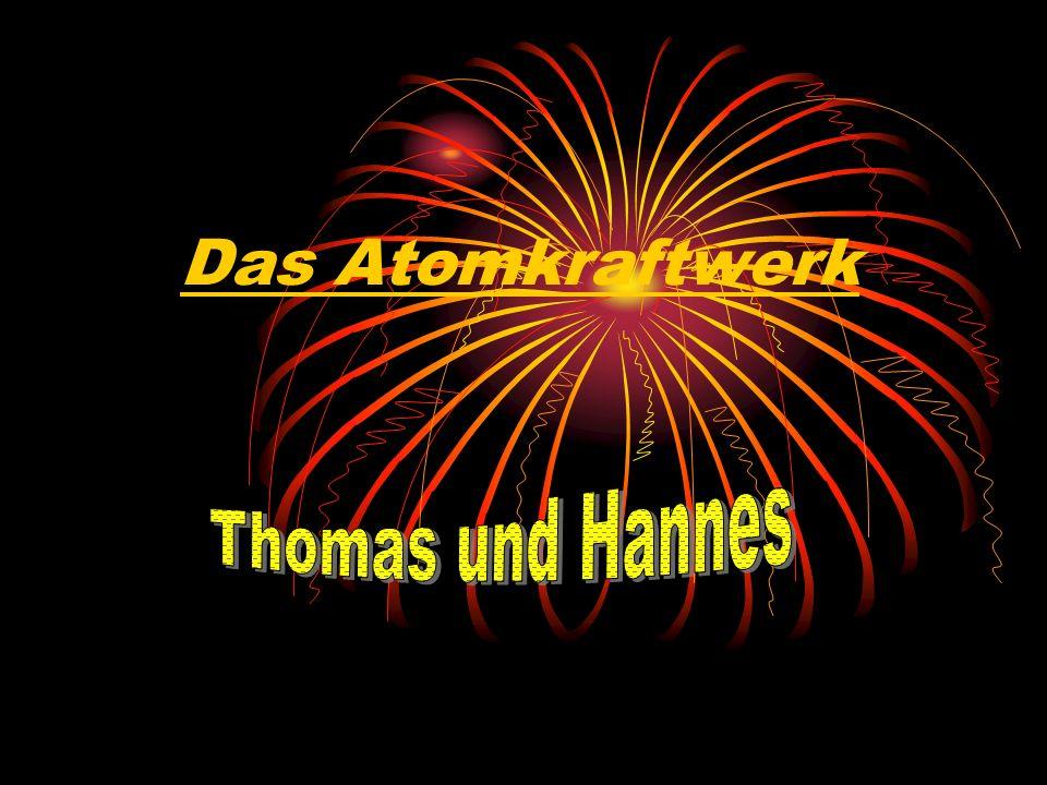 Das Atomkraftwerk Thomas und Hannes