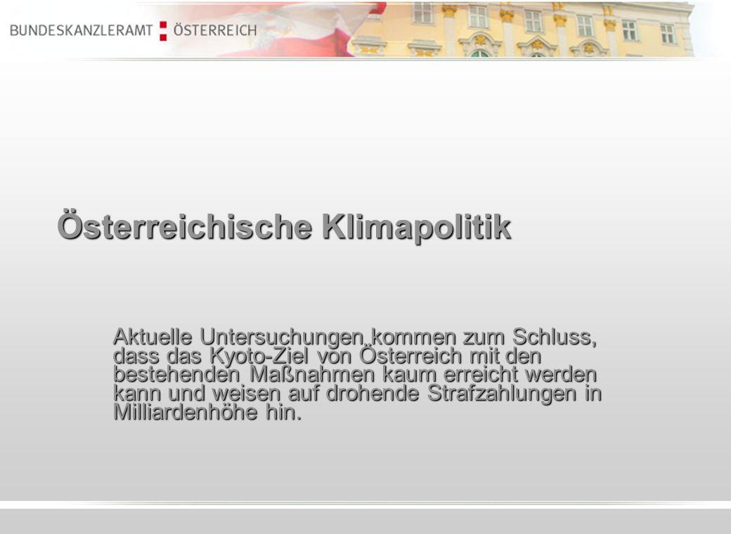 Österreichische Klimapolitik