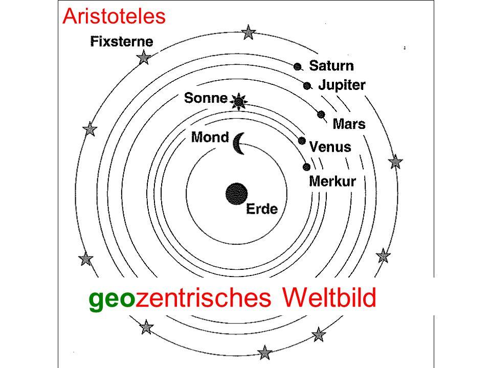 geozentrisches Weltbild