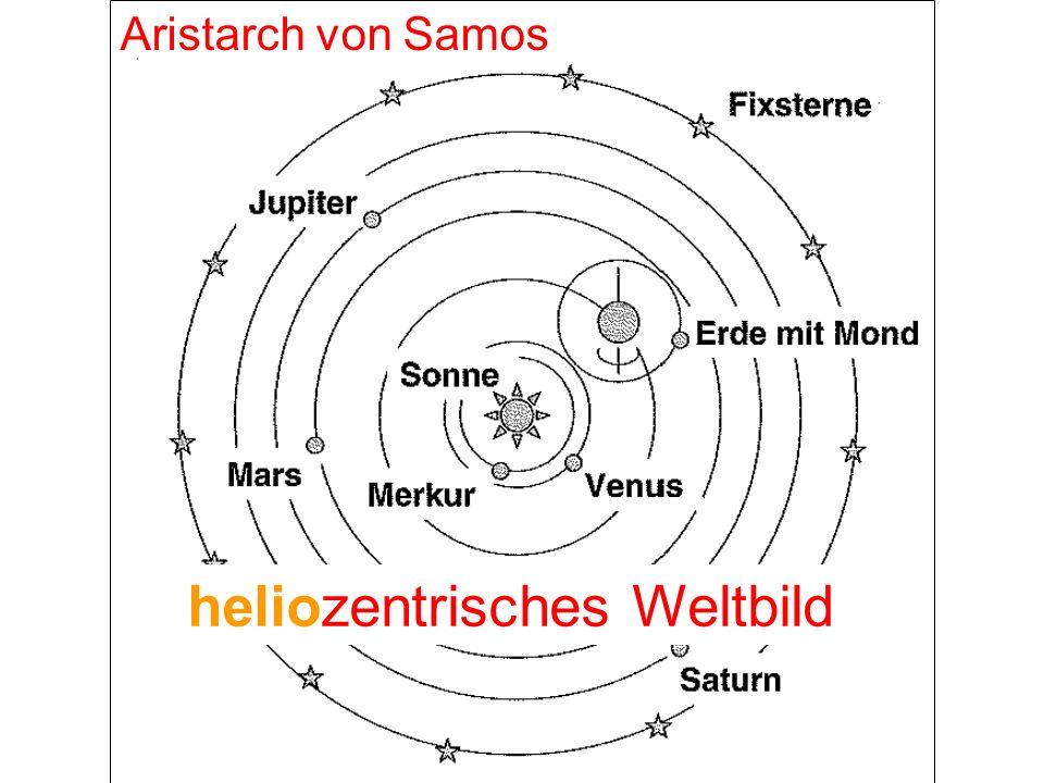 Aristarch von Samos k heliozentrisches Weltbild