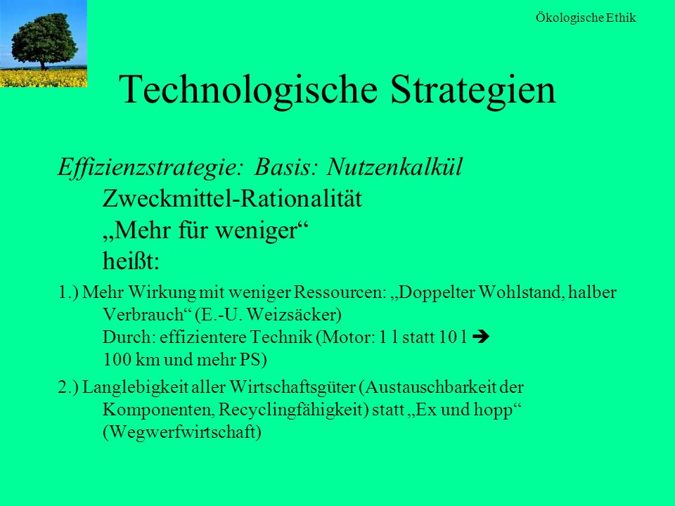 Technologische Strategien