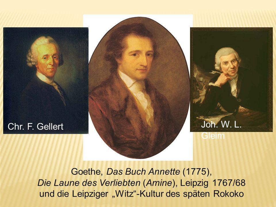 Goethe, Das Buch Annette (1775),