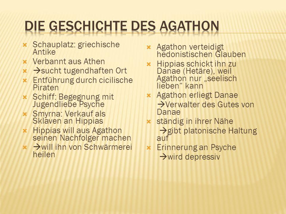 Die Geschichte des Agathon