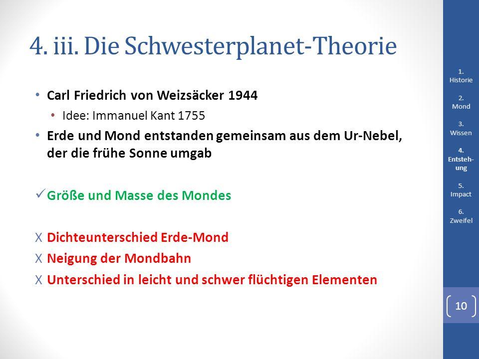 4. iii. Die Schwesterplanet-Theorie