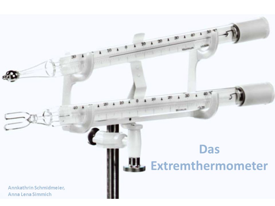 Das Extremthermometer