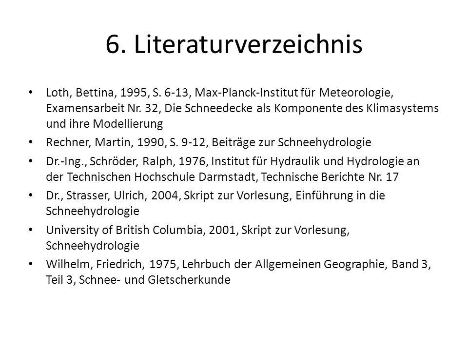 6. Literaturverzeichnis
