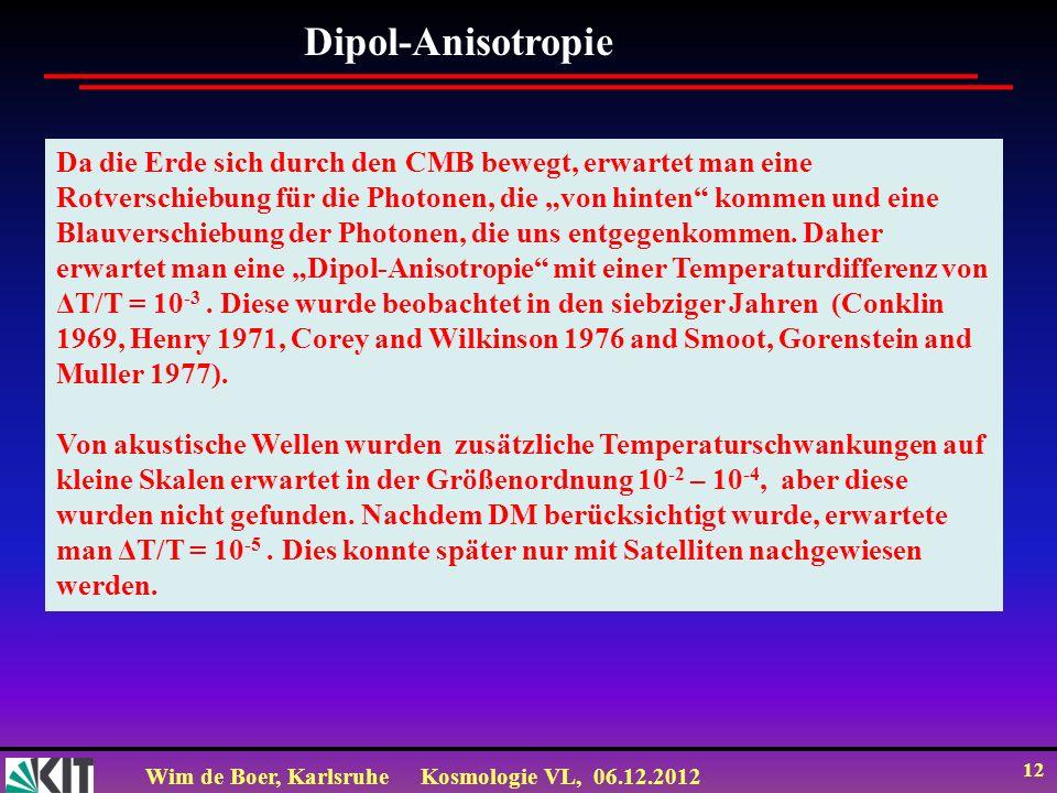 Dipol-Anisotropie