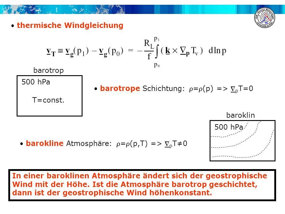 thermische Windgleichung