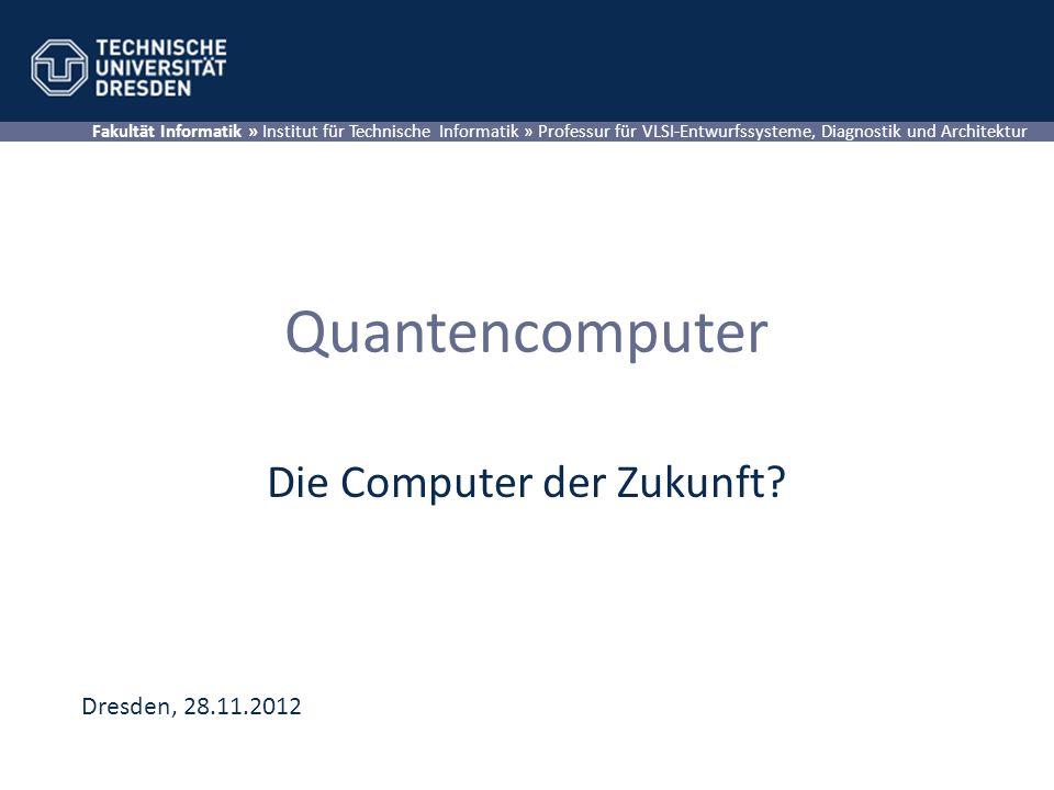 Die Computer der Zukunft