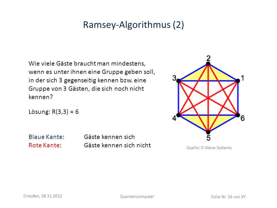 Ramsey-Algorithmus (2)