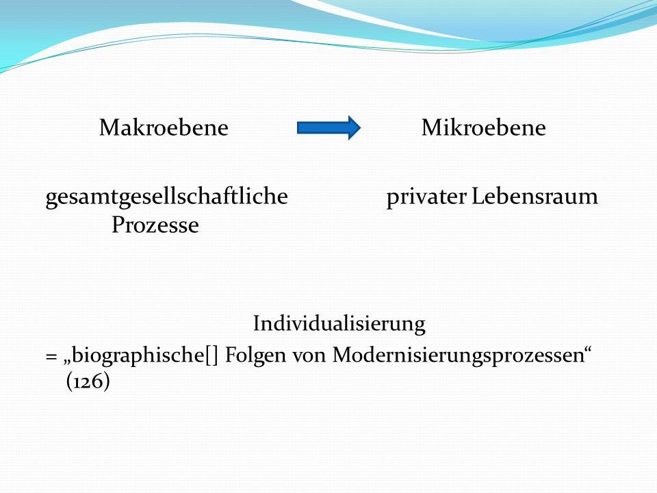 Makroebene Mikroebene