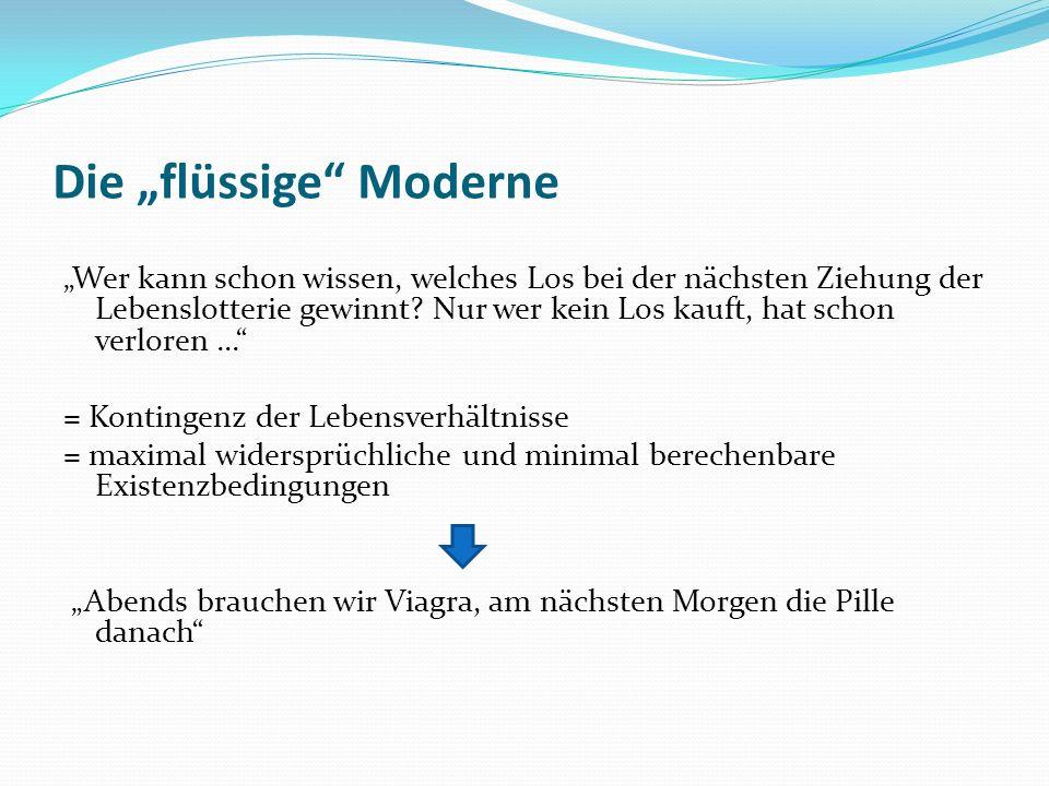 """Die """"flüssige Moderne"""
