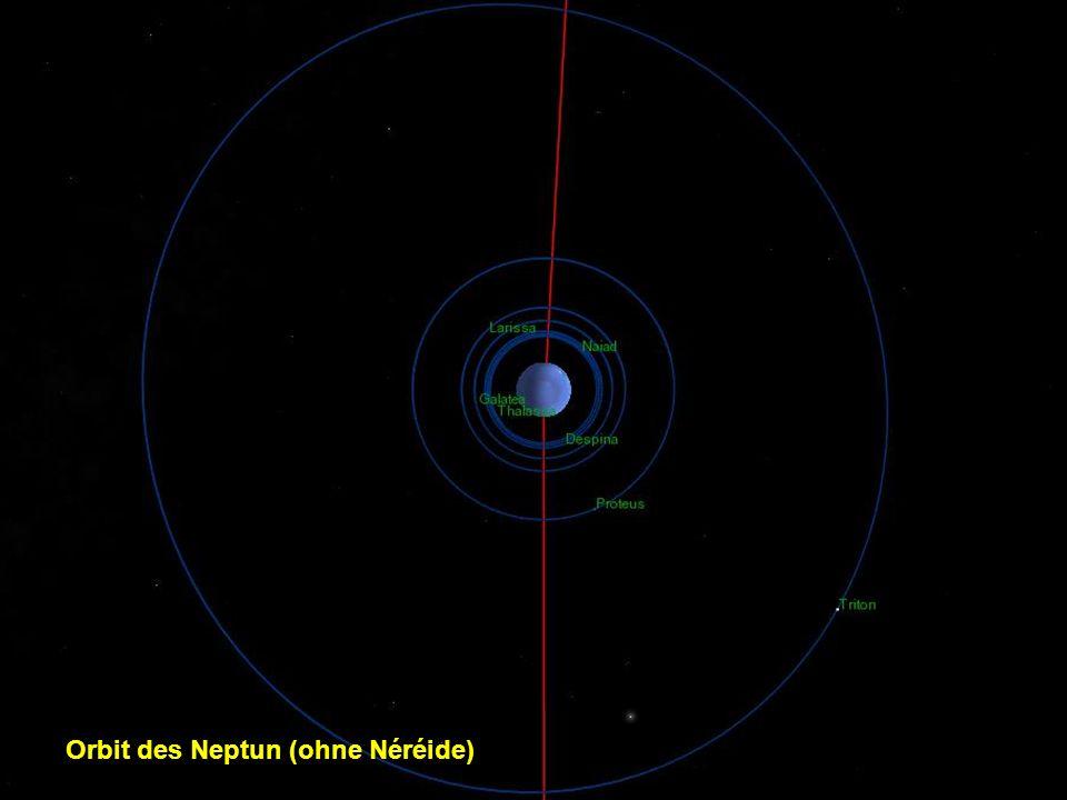 Orbit des Neptun (ohne Néréide)