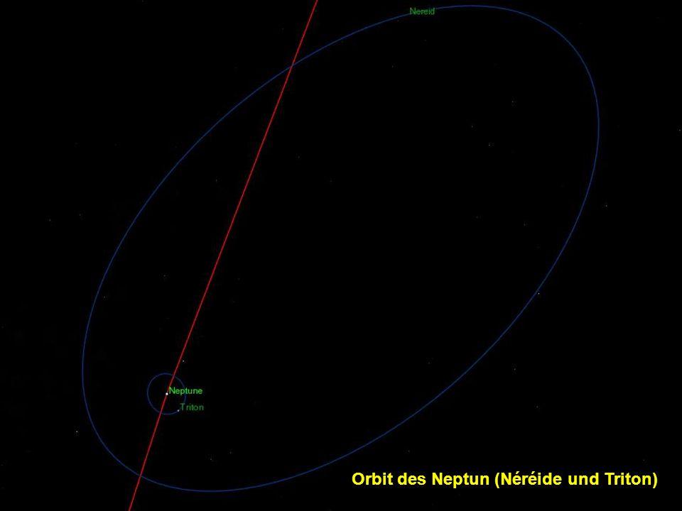 Orbit des Neptun (Néréide und Triton)