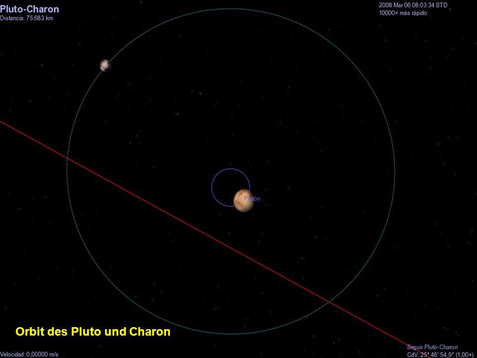 Orbit des Pluto und Charon