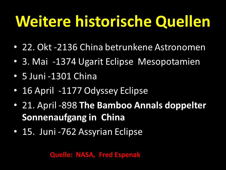 Weitere historische Quellen