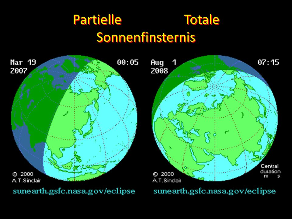 Partielle Totale Sonnenfinsternis