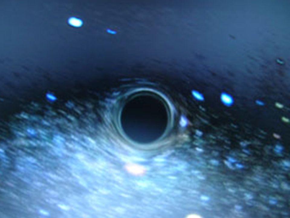 Ein schwarzes Loch Schwarzes Loch
