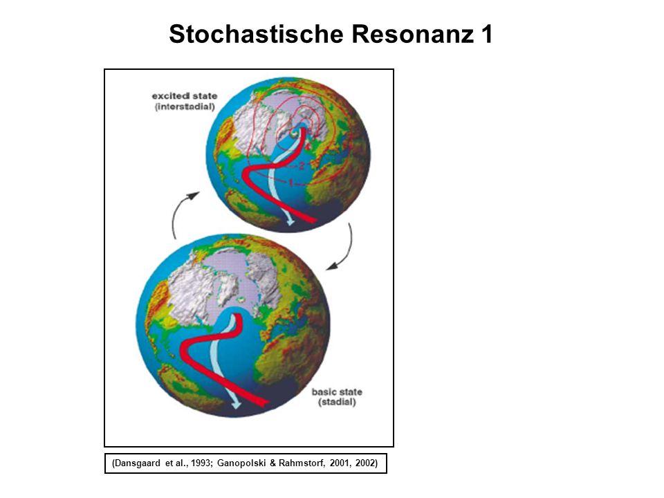 Stochastische Resonanz 1