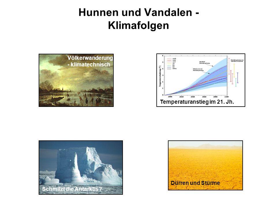 Hunnen und Vandalen - Klimafolgen