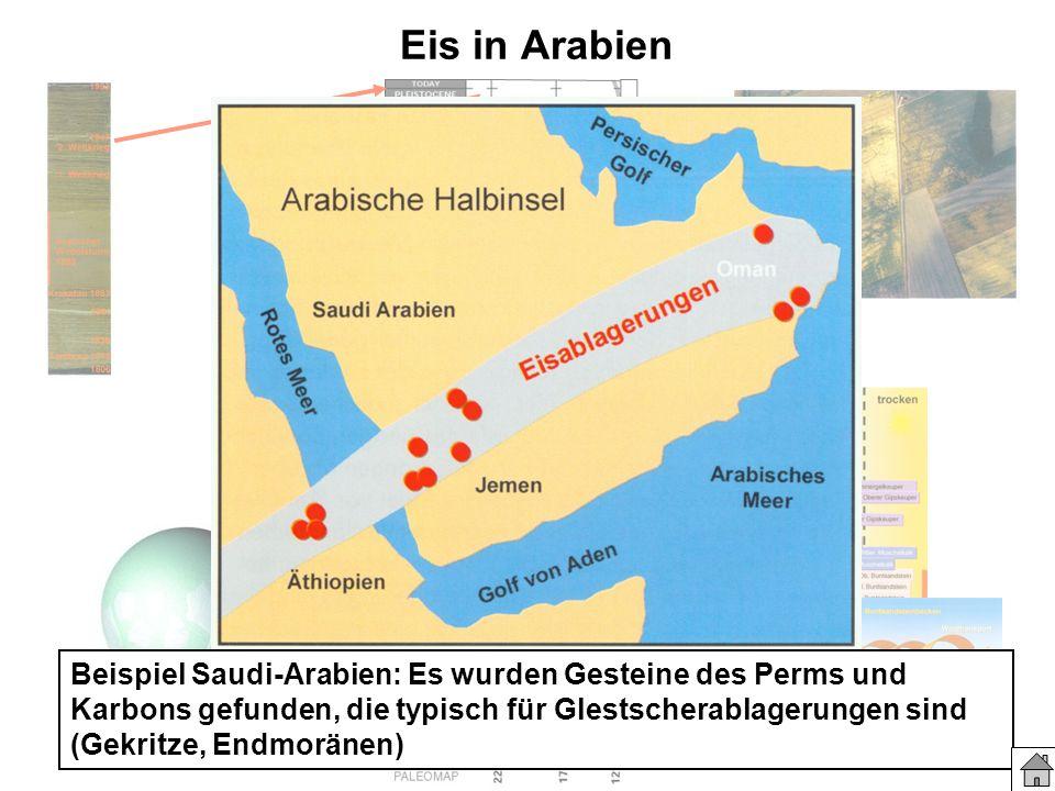 Eis in Arabien