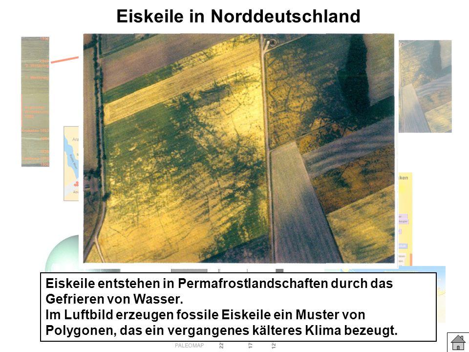 Eiskeile in Norddeutschland