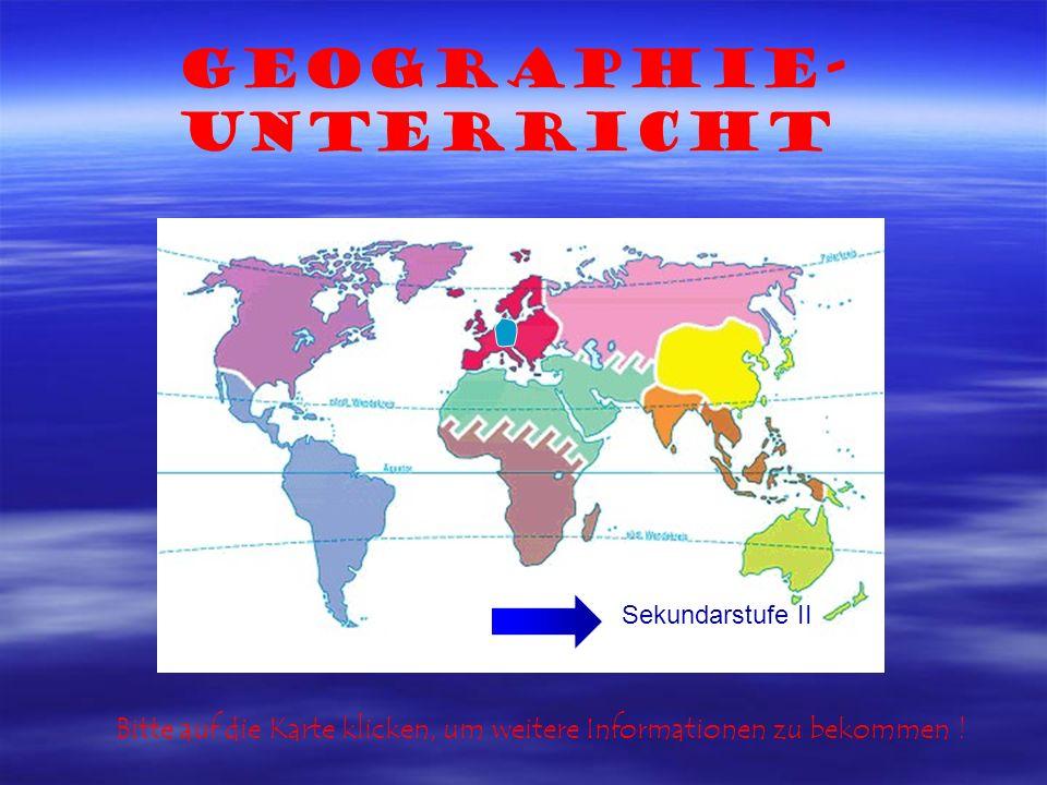 Geographie-Unterricht