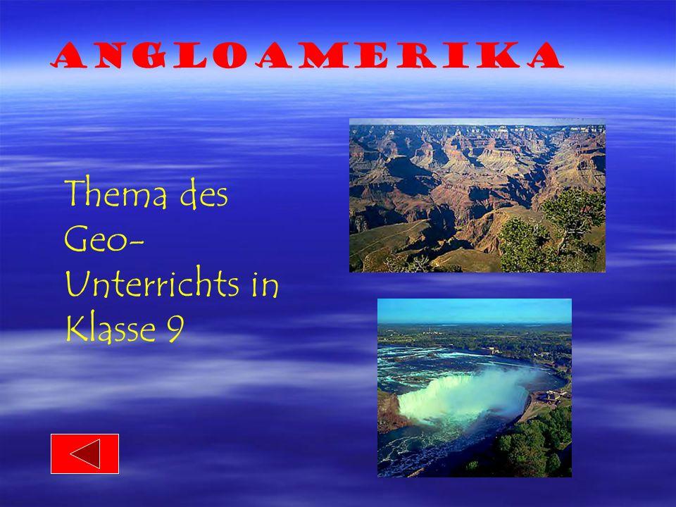Thema des Geo- Unterrichts in Klasse 9