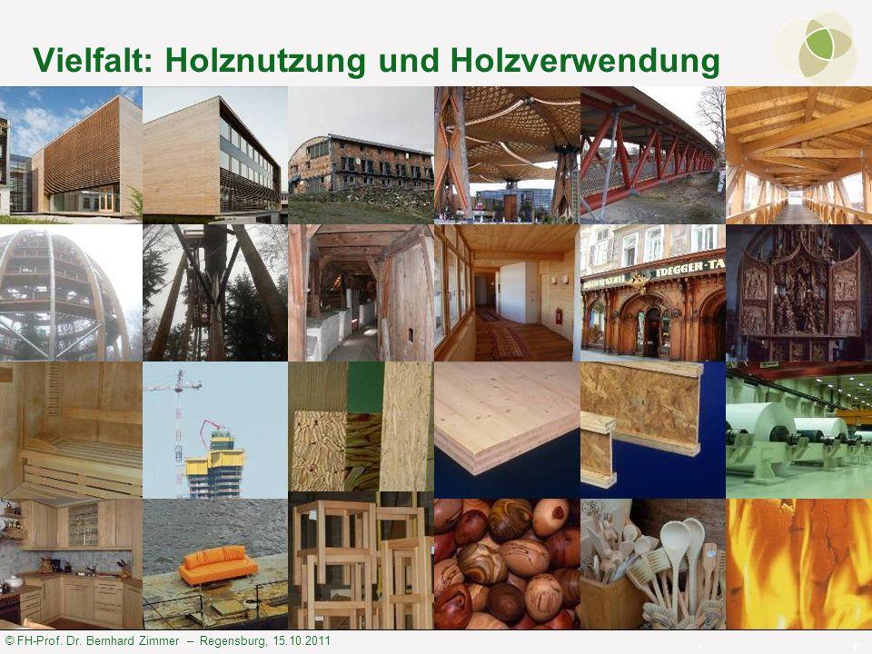 Vielfalt: Holznutzung und Holzverwendung