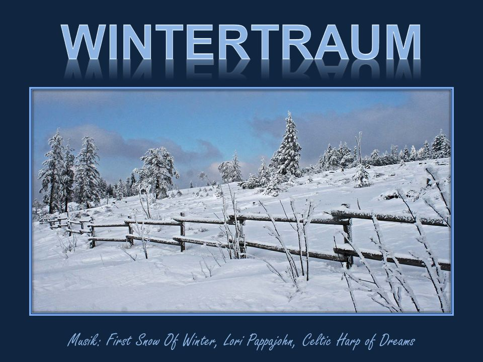 Musik: First Snow Of Winter, Lori Pappajohn, Celtic Harp of Dreams