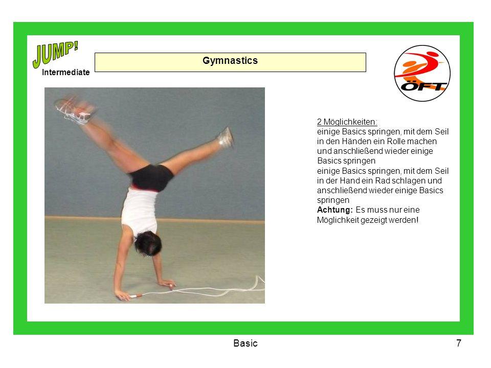 JUMP! Gymnastics Basic Intermediate 2 Möglichkeiten: