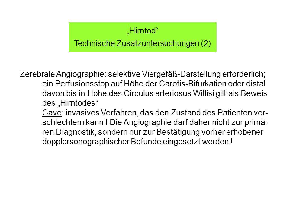 Technische Zusatzuntersuchungen (2)