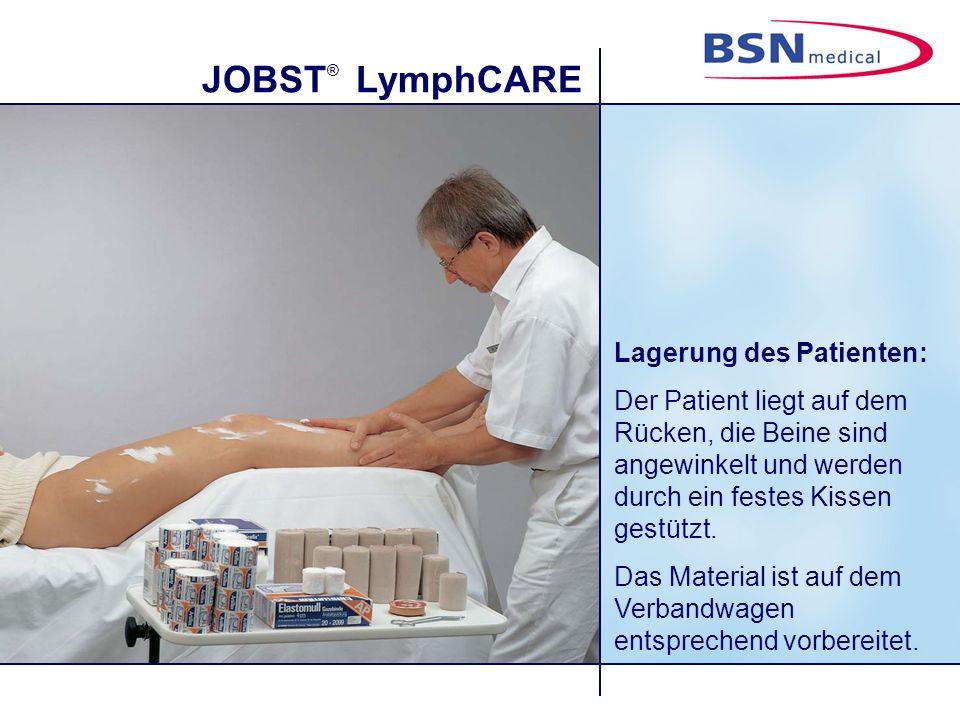 Lagerung des Patienten: