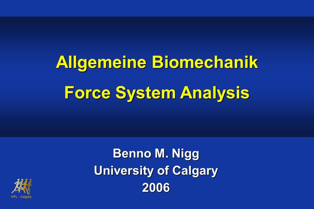 Allgemeine Biomechanik