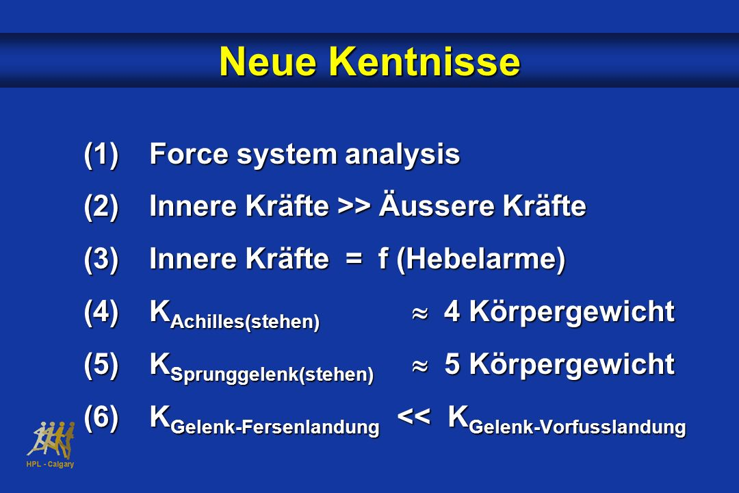 Neue Kentnisse Force system analysis