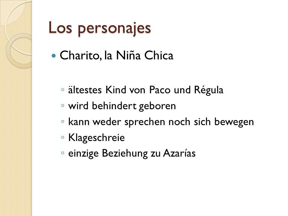 Los personajes Charito, la Niña Chica