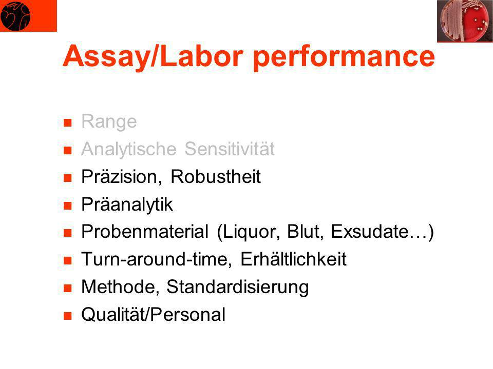 Assay/Labor performance