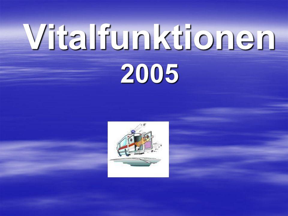 Vitalfunktionen 2005