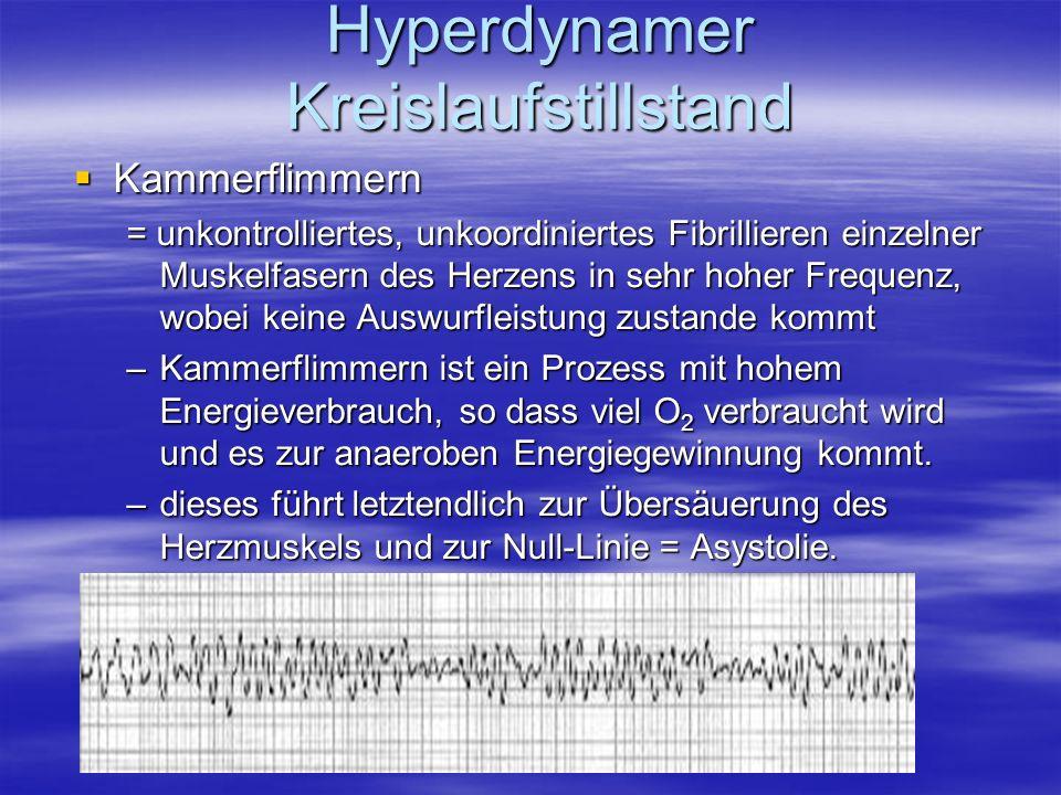 Hyperdynamer Kreislaufstillstand