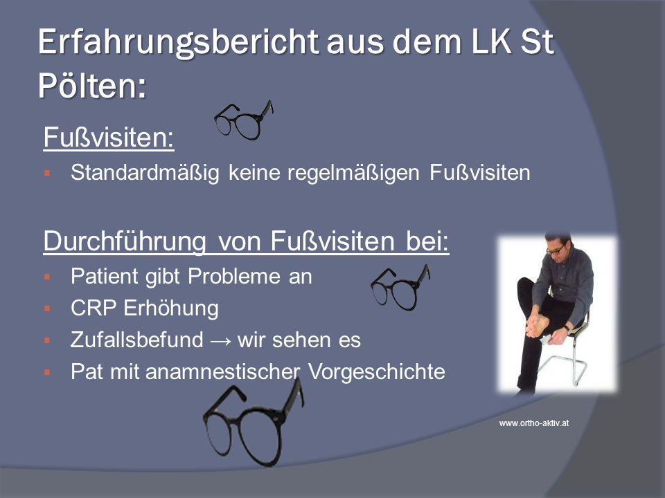 Erfahrungsbericht aus dem LK St Pölten: