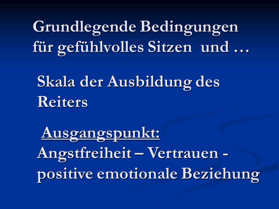 Grundlegende Bedingungen für gefühlvolles Sitzen und …