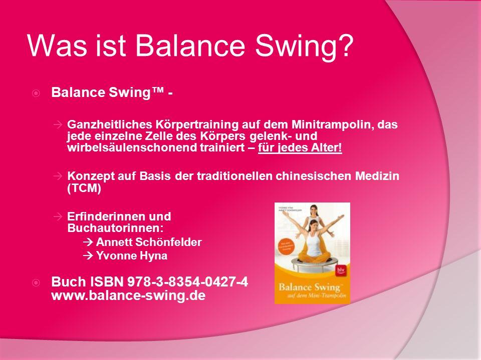 Was ist Balance Swing Balance Swing™ -