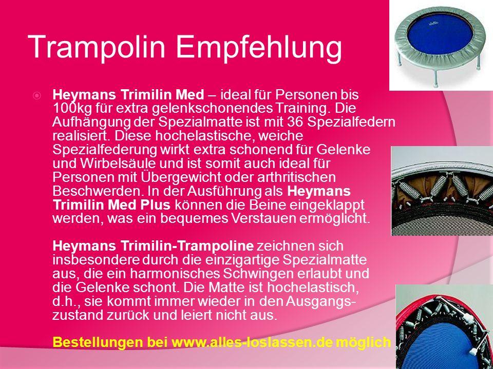Trampolin Empfehlung