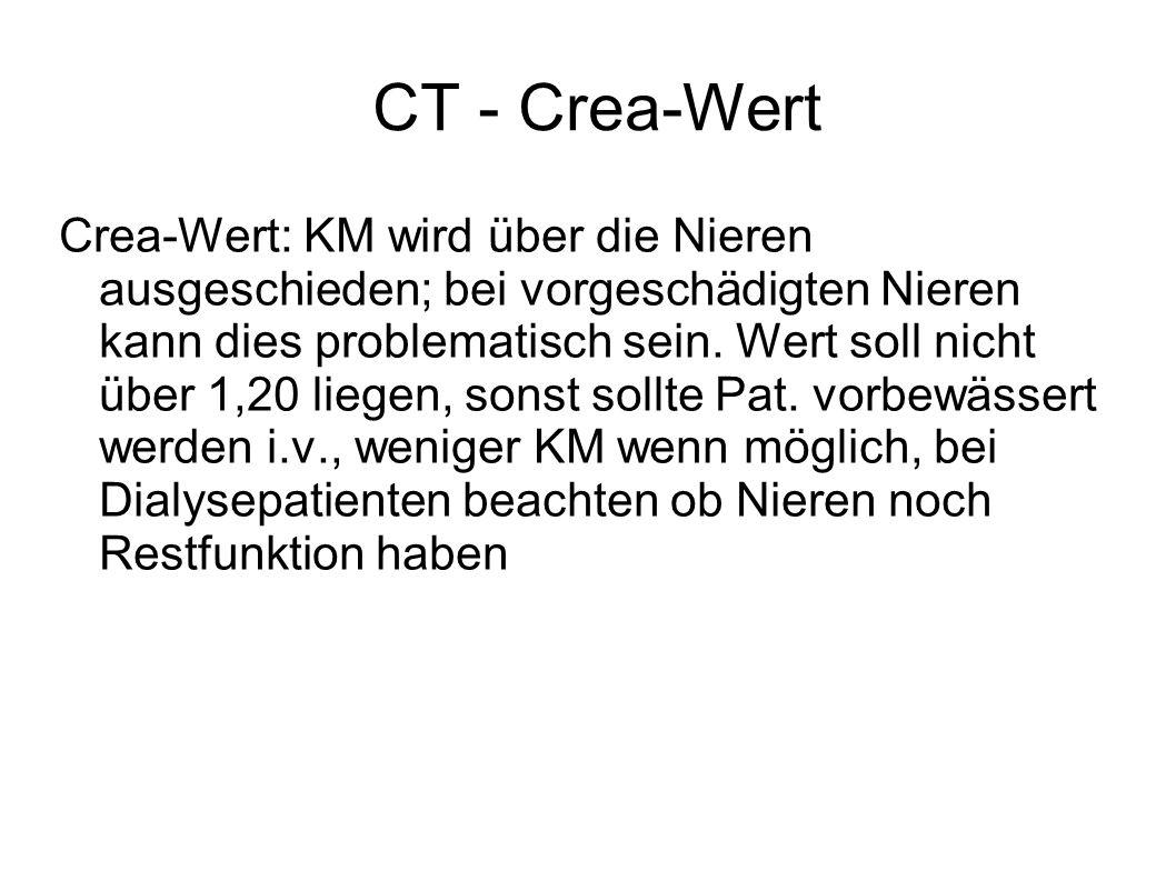 CT - Crea-Wert