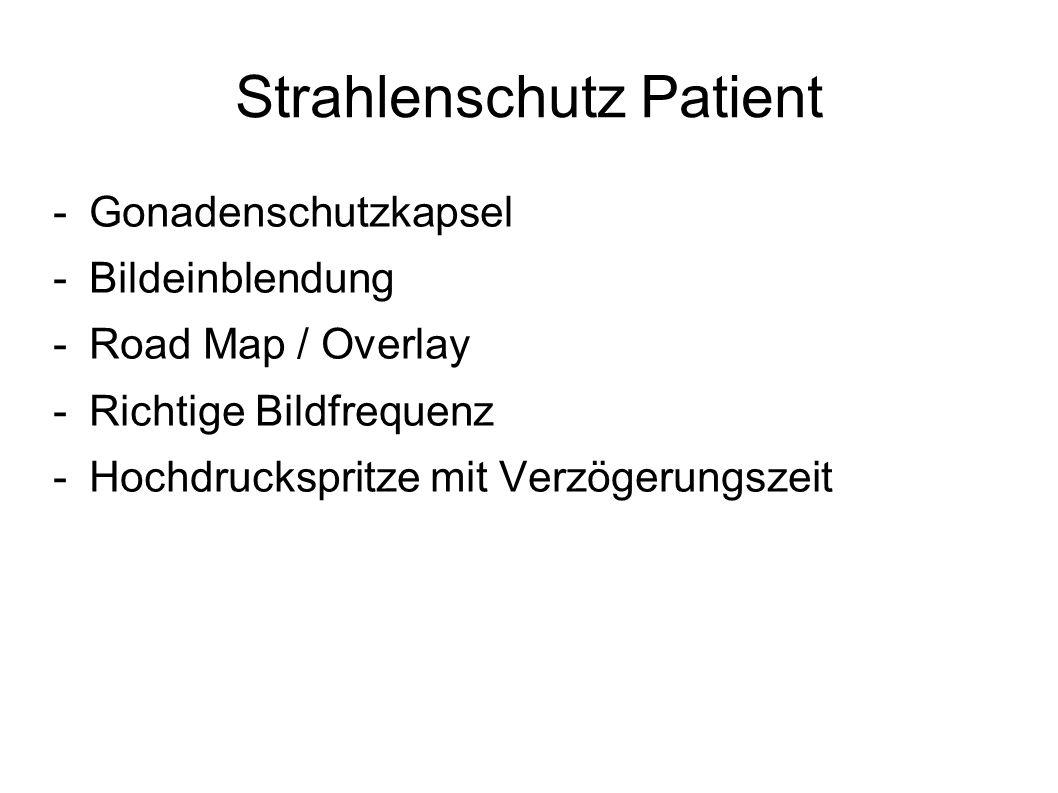 Strahlenschutz Patient