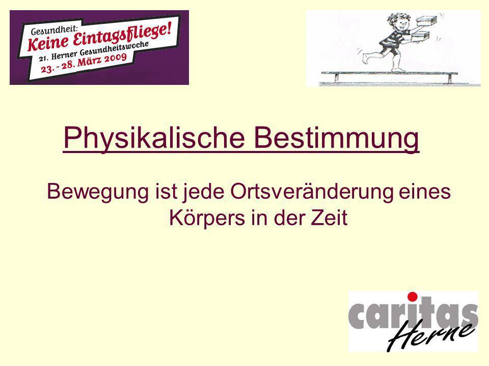 Physikalische Bestimmung